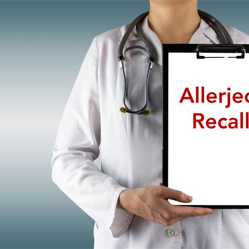 Notice to Parents - Allerject Recall