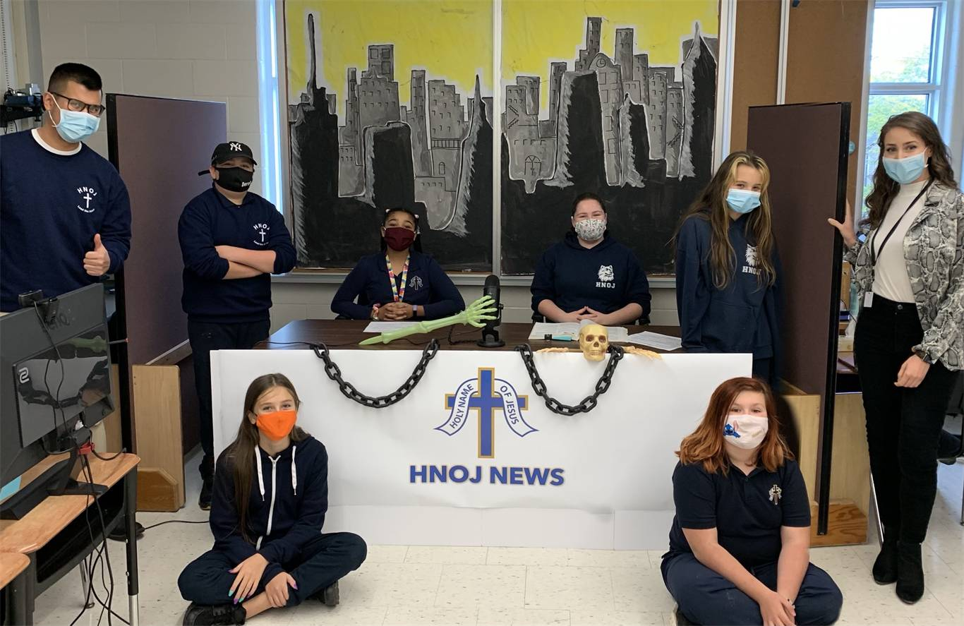 Banner Image for The Debut of the HNOJ News Team