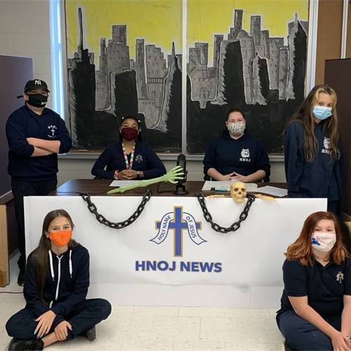 The Debut of the HNOJ News Team